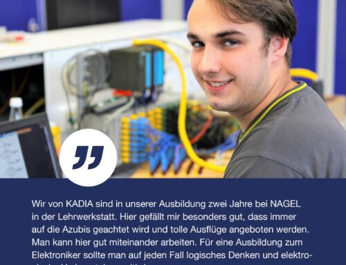 Lars über die Ausbildung zum Elektroniker